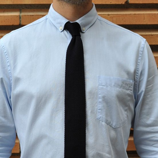 Notch Angelo knitted tie