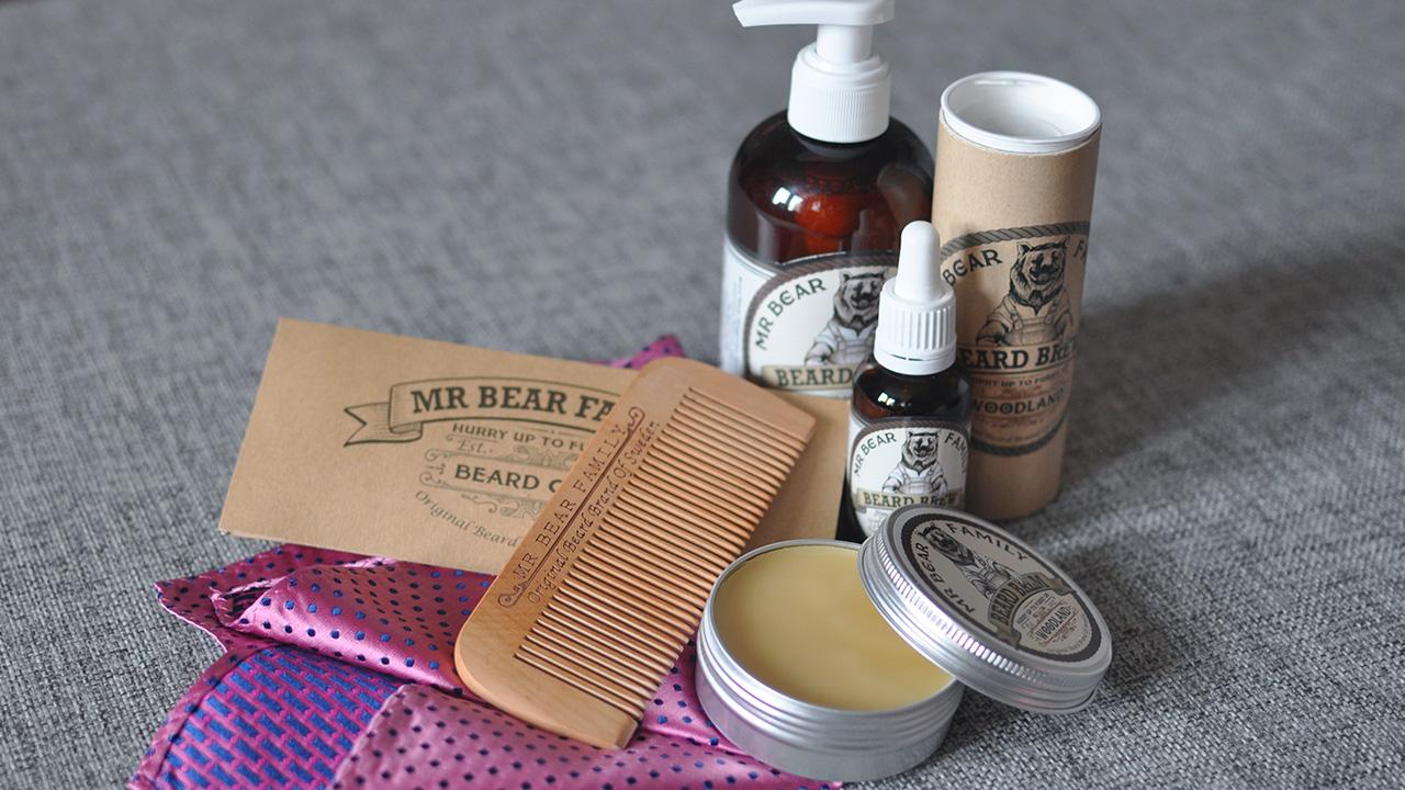 Skäggvårdsprodukter från Mr Bear Family